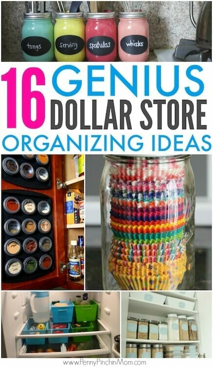 organizing on a budget