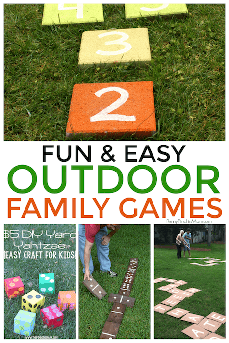 17 Easy Diy Outdoor Games For You Can Play Today