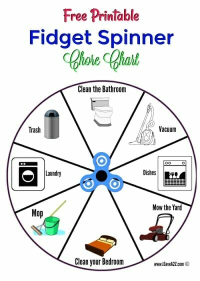 chore charts for kids that will make cleaning more fun
