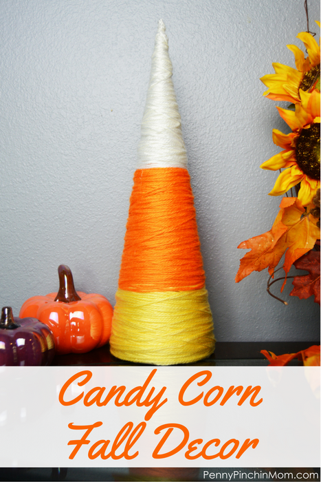 Candy Corn Fall Decor