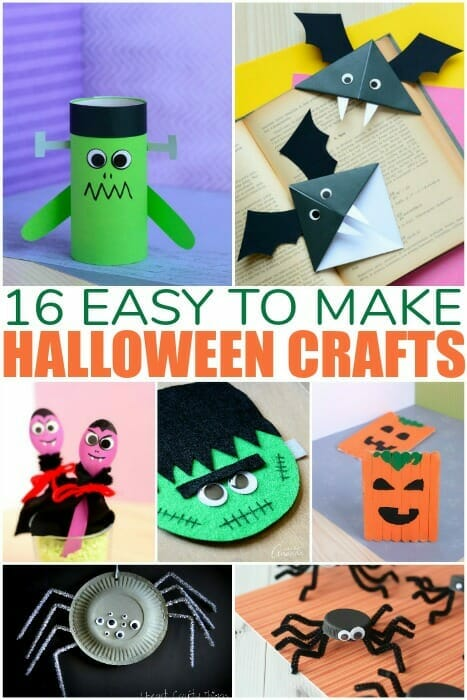 Halloween Crafts Kids Can Make At School Parties