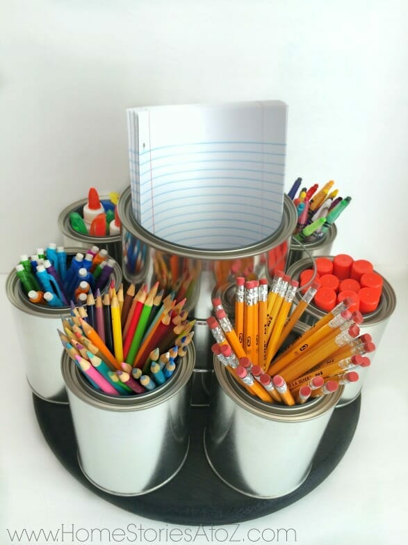 back to school organization caddy