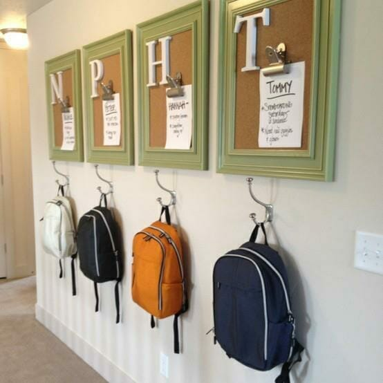 back to school organization backpack center