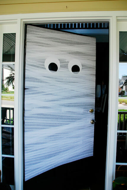 Halloween Decoration mummy front door