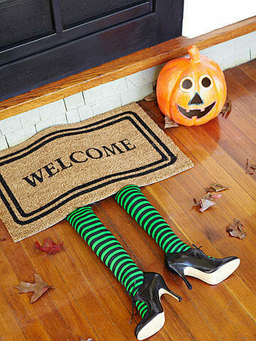 Halloween decorations doormat