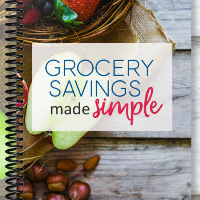 Grocery Savings Made Simple (Video and Workbooks)