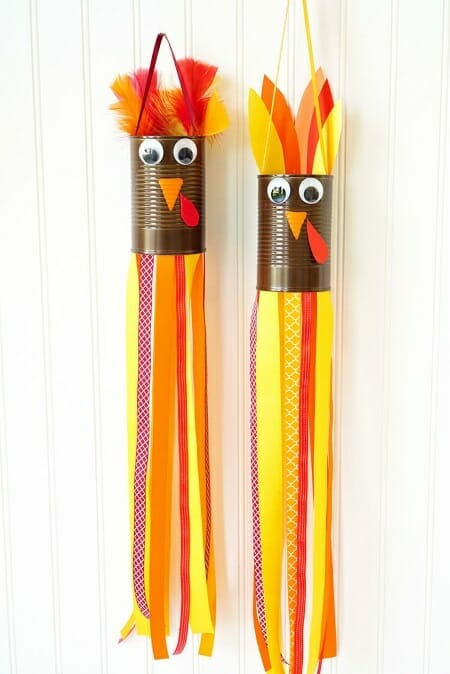 Turkey Windsock Craft