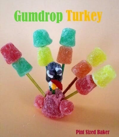 Gumdrop Turkey Craft