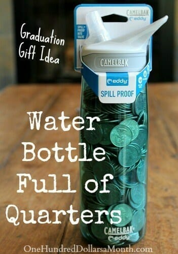 money gift ideas - water bottle
