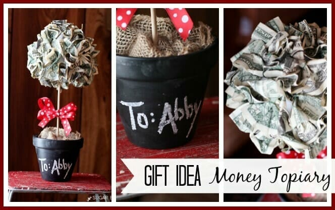how to give money as a gift - money tree