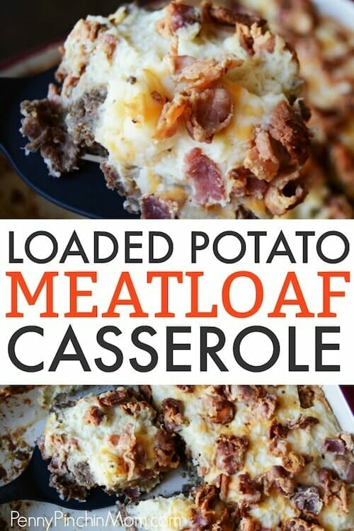 loaded potato meatloaf casserole recipe