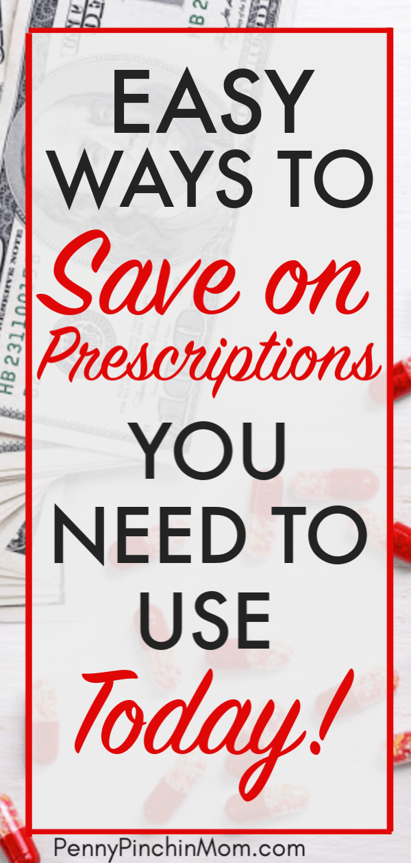 Wondering how to save money on prescriptions?  We've got simple strategies anyone can use to pay less for medications and the prescription drugs that they need.  Learn how to get cheap prescriptions without insurance.  #prescriptions #savemoney #healthcare #budget #PPM